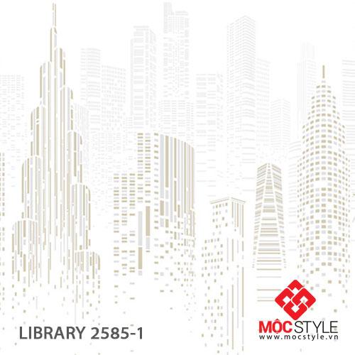 Giấy dán tường Library 2585-1