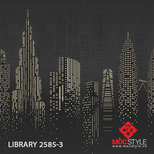 Giấy dán tường Library 2585-3