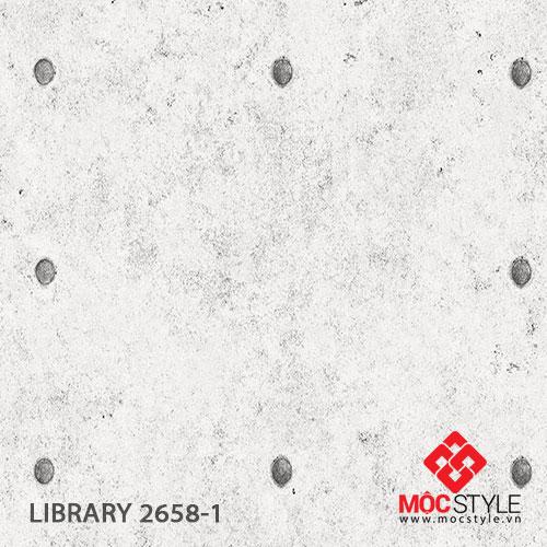 Giấy dán tường Library 2658-1