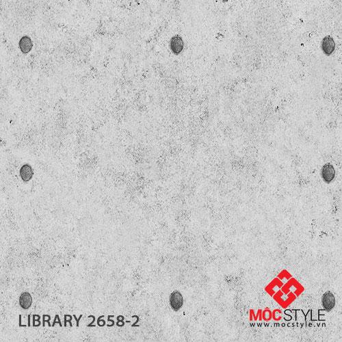 Giấy dán tường Library 2658-2