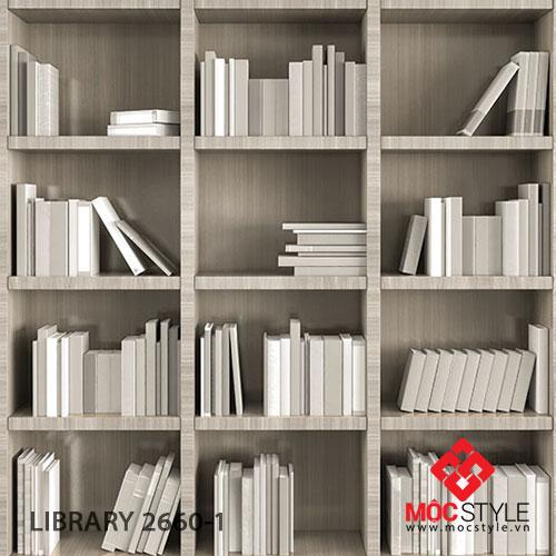 Giấy dán tường Library 2660-1