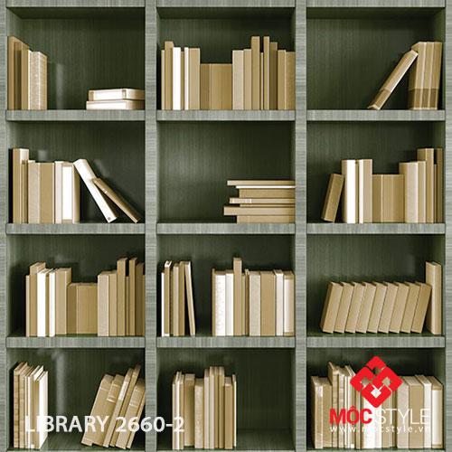 Giấy dán tường Library 2660-2