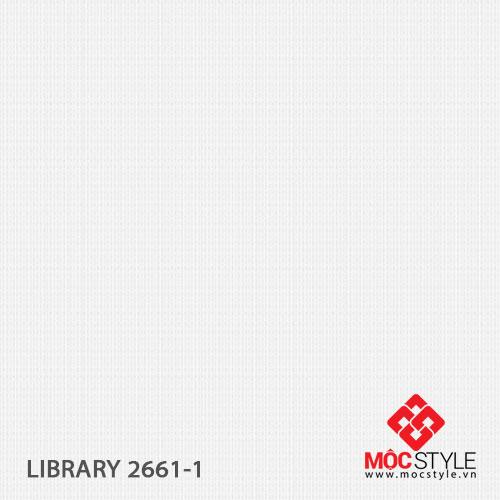 Giấy dán tường Library 2661-1