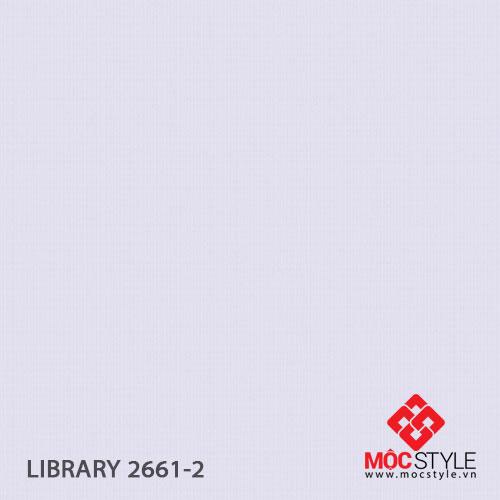 Giấy dán tường Library 2661-2