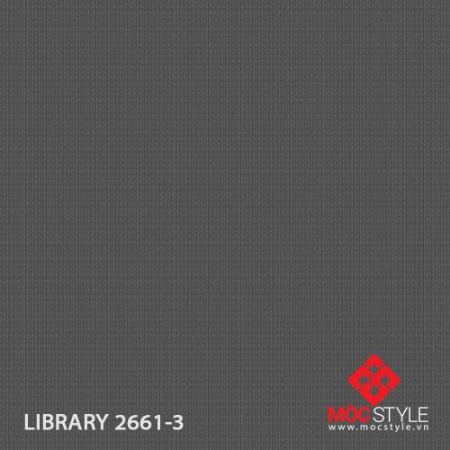 Giấy dán tường Library 2661-3