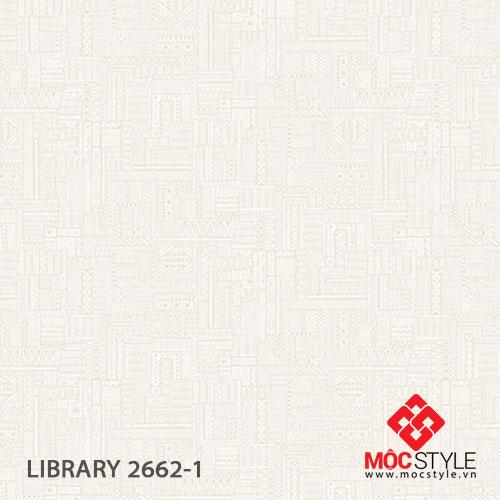Giấy dán tường Library 2662-1
