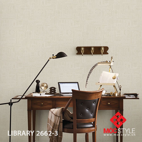 Giấy dán tường Library 2662-3