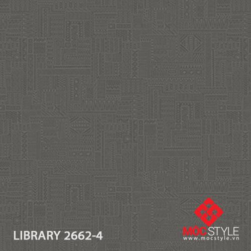 Giấy dán tường Library 2662-4