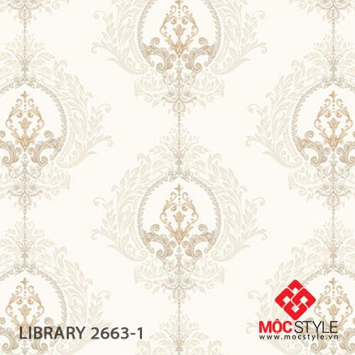 Giấy dán tường Library 2663-1