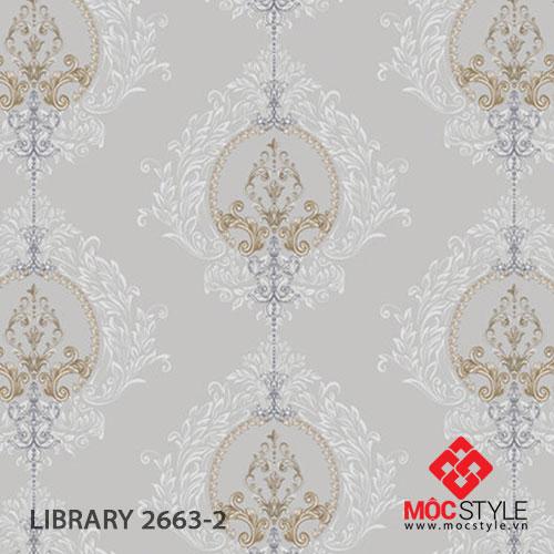 Giấy dán tường Library 2663-2