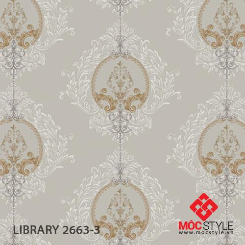 Giấy dán tường Library 2663-3