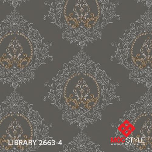 Giấy dán tường Library 2663-4
