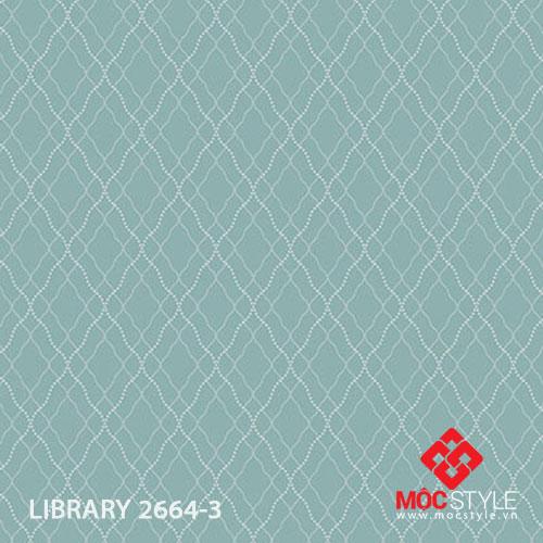 Giấy dán tường Library 2664-3