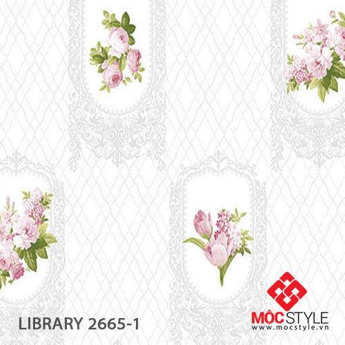 Giấy dán tường Library 2665-1