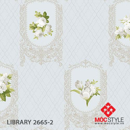 Giấy dán tường Library 2665-2