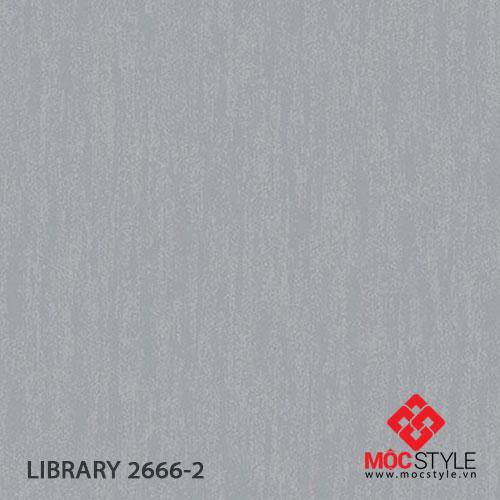 Giấy dán tường Library 2666-2