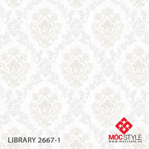 Giấy dán tường Library 2667-1
