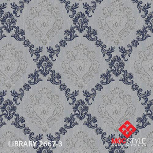 Giấy dán tường Library 2667-3