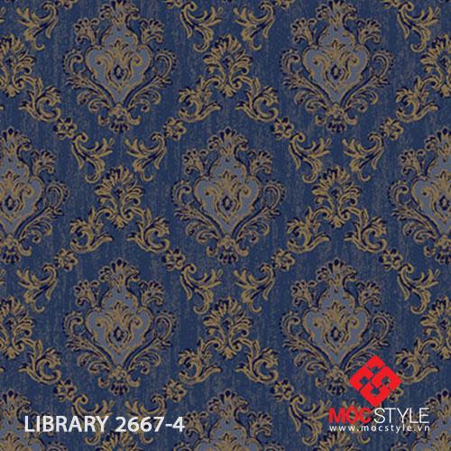 Giấy dán tường Library 2667-4