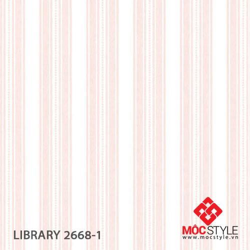 Giấy dán tường Library 2668-1