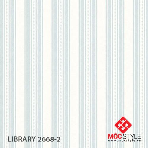 Giấy dán tường Library 2668-2
