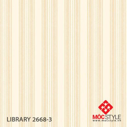 Giấy dán tường Library 2668-3