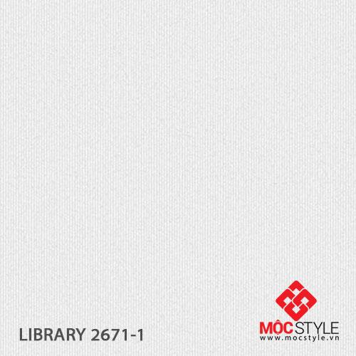 Giấy dán tường Library 2671-1
