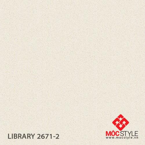 Giấy dán tường Library 2671-2