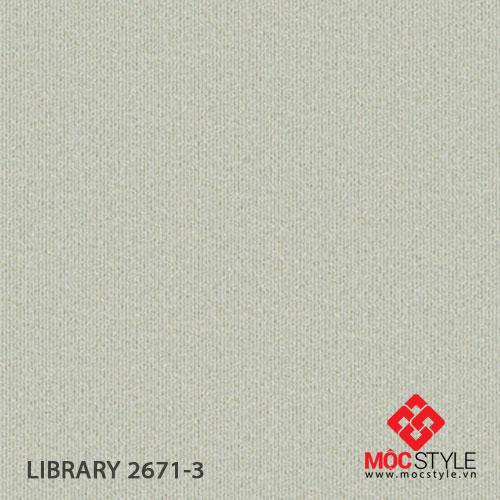 Giấy dán tường Library 2671-3