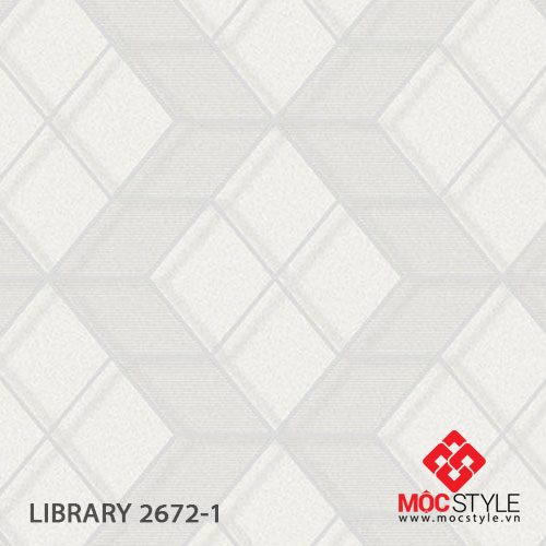 Giấy dán tường Library 2672-1