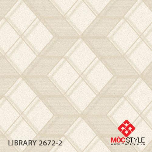 Giấy dán tường Library 2672-2