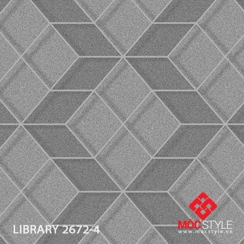 Giấy dán tường Library 2672-4