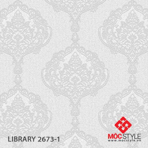 Giấy dán tường Library 2673-1