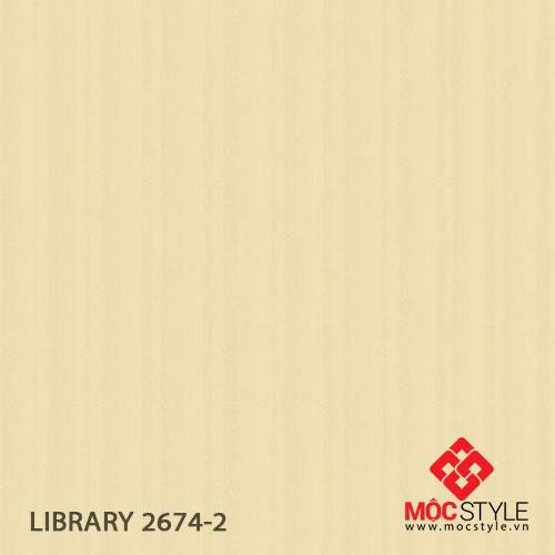 Giấy dán tường Library 2674-2