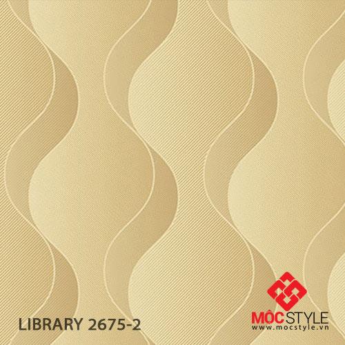 Giấy dán tường Library 2675-2