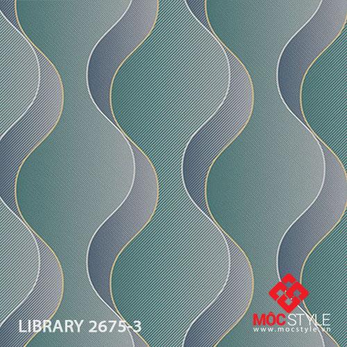 Giấy dán tường Library 2675-3