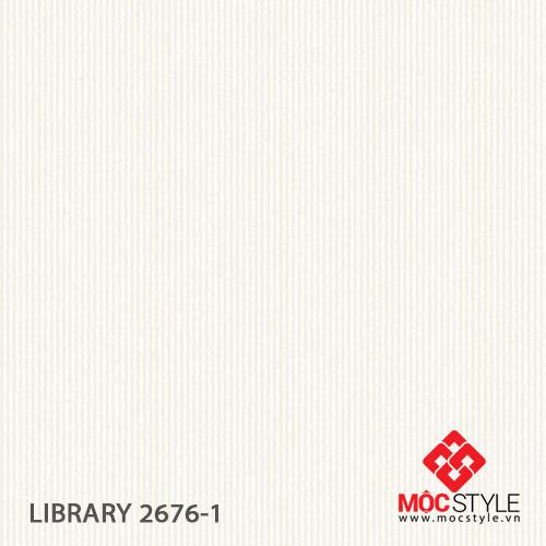 Giấy dán tường Library 2676-1