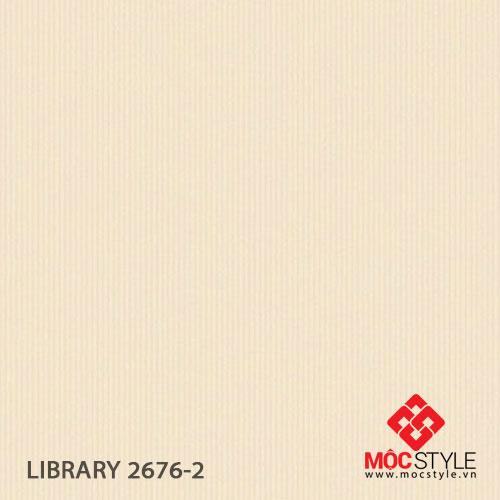 Giấy dán tường Library 2676-2