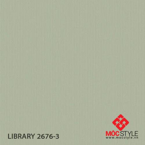 Giấy dán tường Library 2676-3