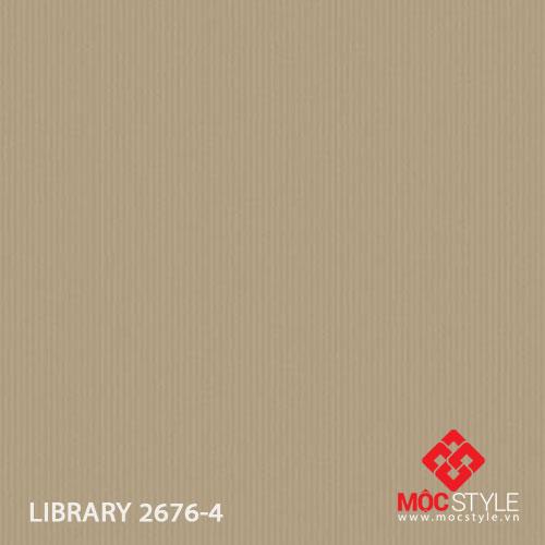 Giấy dán tường Library 2676-4