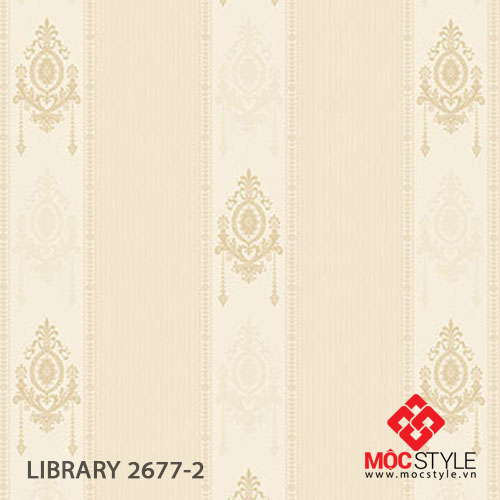 Giấy dán tường Library 2677-2
