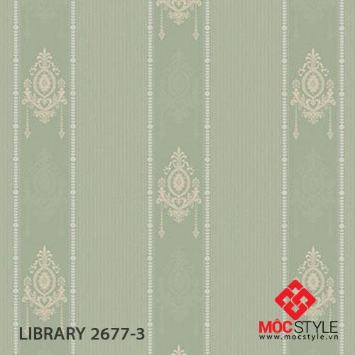Giấy dán tường Library 2677-3