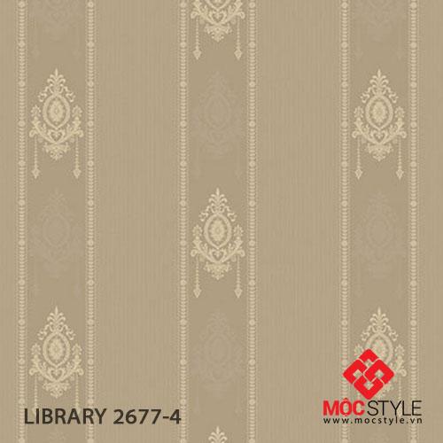 Giấy dán tường Library 2677-4