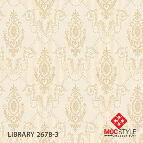 Giấy dán tường Library 2678-3