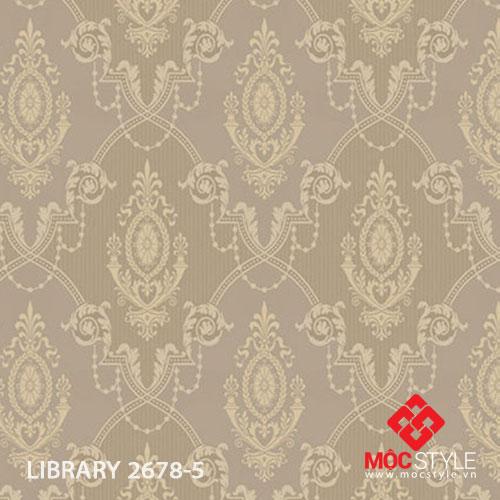 Giấy dán tường Library 2678-5