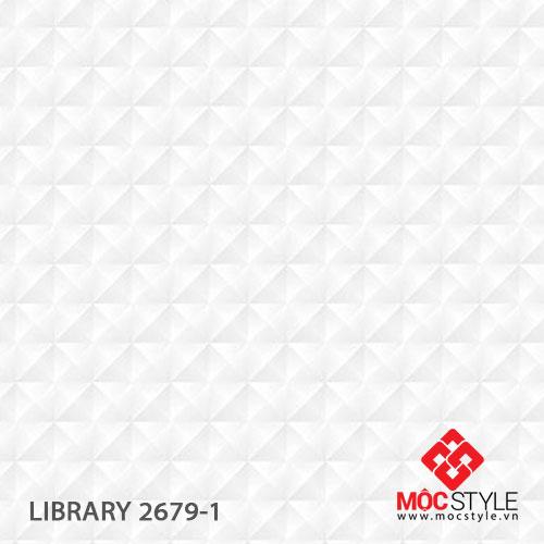 Giấy dán tường Library 2679-1
