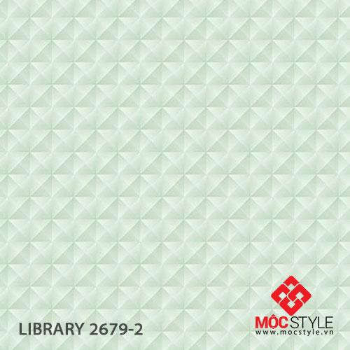 Giấy dán tường Library 2679-2