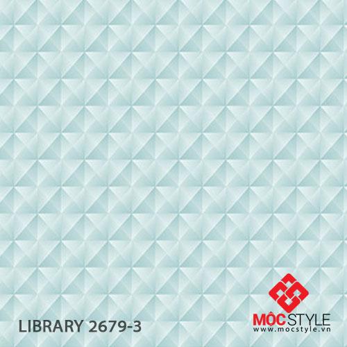 Giấy dán tường Library 2679-3