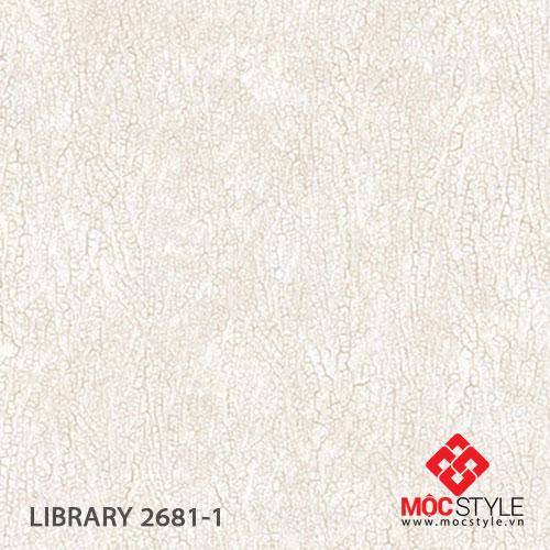 Giấy dán tường Library 2681-1