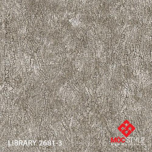 Giấy dán tường Library 2681-3
